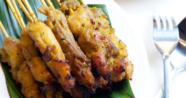 Satay Chicken recipe from mindfood