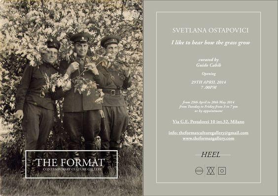 Svetlana Ostapovici  fino al 20 maggio  The Format Gallery Milano.