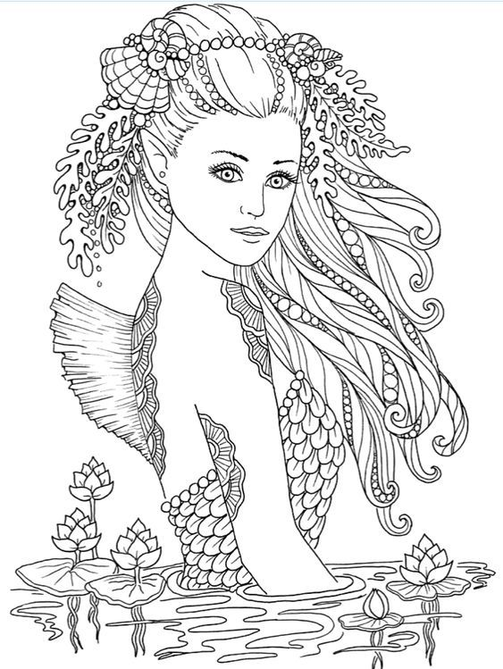 Get Everything You Need Starting At 5 Fiverr In 2021 Mermaid Coloring Book Mermaid Coloring Pages Cute Coloring Pages