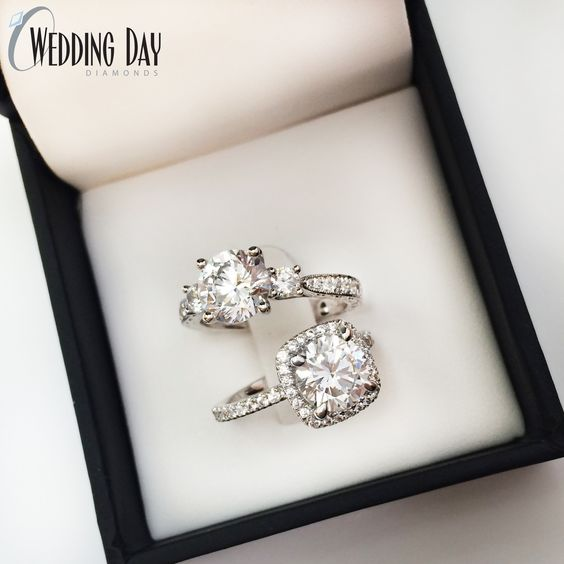 Pretty engagement rings <3