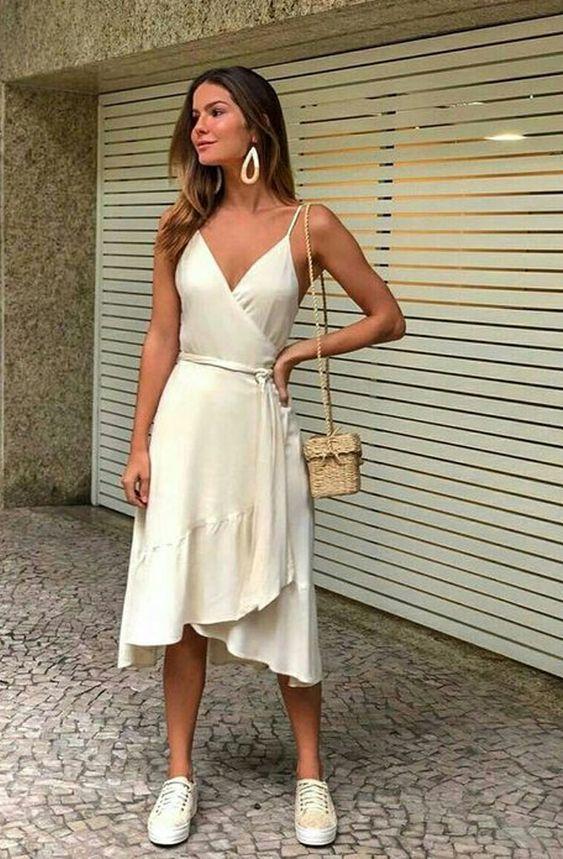 Look vestido perfeito para usar no dia a dia