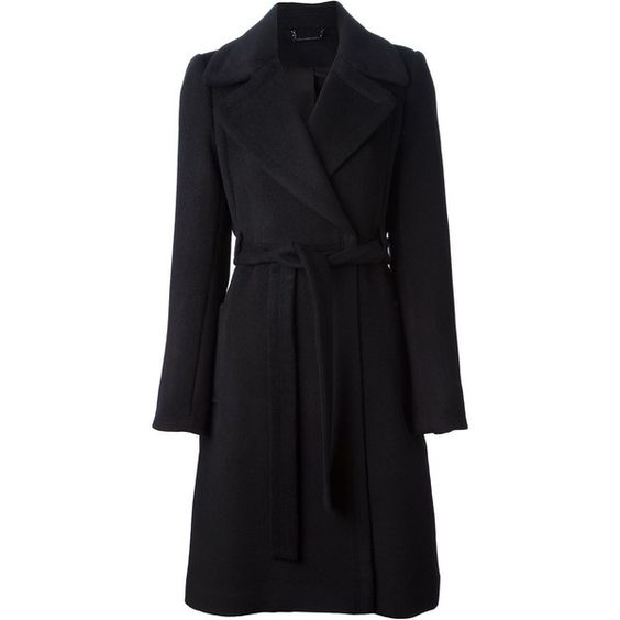 Diane Von Furstenberg wrap style coat ($975) ❤ liked on Polyvore featuring outerwear, coats, coats & jackets, jackets, black, diane von furstenberg coat, diane von furstenberg, wrap coat, wool coat and woolen coat