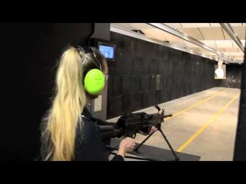 ▶ Confidence Builder | Machine Gun Rental | Women Only | The Heritage Guild - YouTube