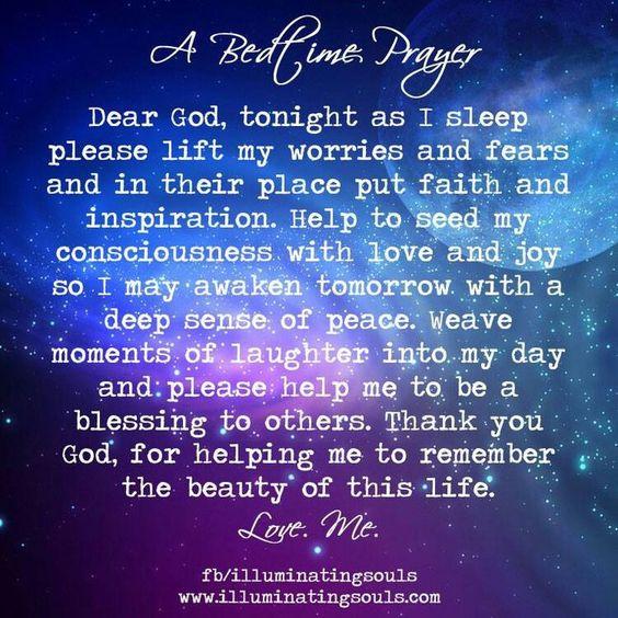 Bedtime Prayer | Affirming