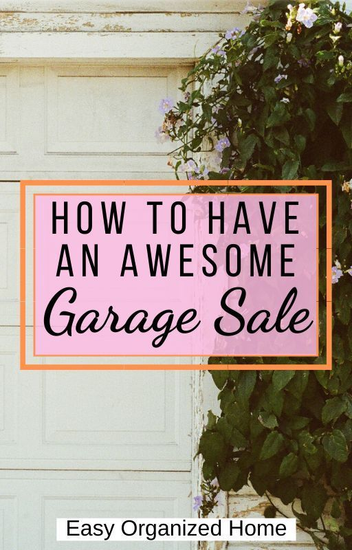 Tips For Garage Sale How To Have A Successful Yard Sale