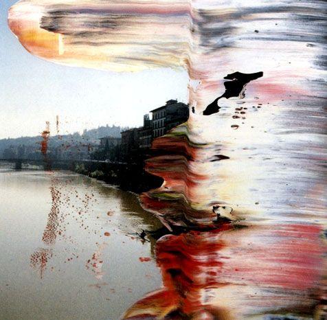 Nada más que la Destrucción de cosas. Gerhard Richter.