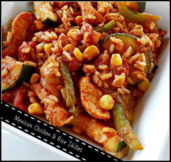 Mexican Chicken & Rice Skillet   Ole'   Pinterest   Chicken Rice ...