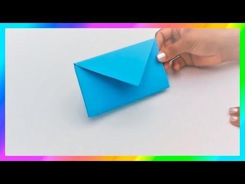 new appearance various styles classic style Cómo hacer SOBRES de papel sin pegamento☆ Origami☆Sobres ...