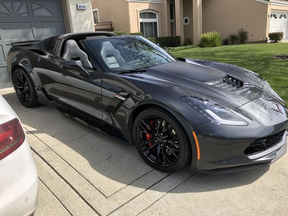 Ready to enjoy the good weather finally! #Corvette #Stingray #auction #Chevrolet #Convertible #cars #classiccars #Chevy