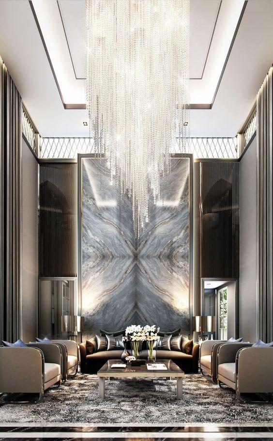 Modern Living Room Inspiring Luxury Living Room Design Chandelier In Living Room Hotel Lobby Design