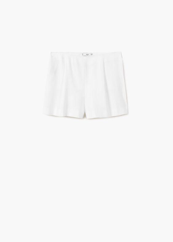 Short pinças bolas | MANGO