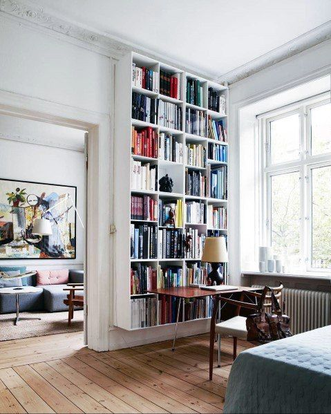 Top 70 Best Floor To Ceiling Bookshelves Ideas Wall Storage Designs Bookcase Design Home Decor Inspiration Home Decor