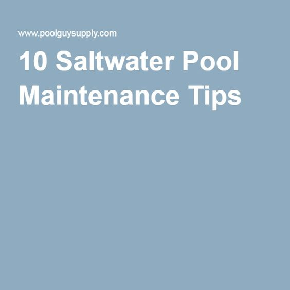 salt water pools pools and tips on pinterest