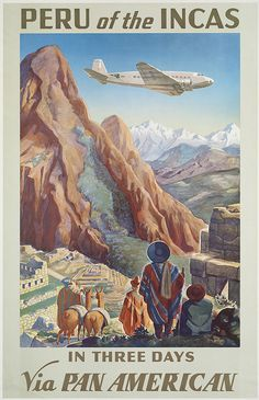 Fly Pan American to Peru