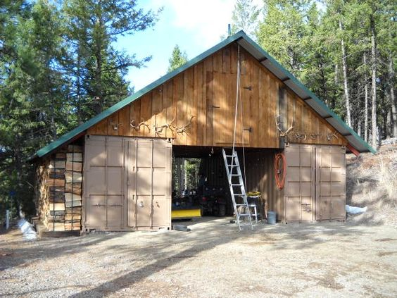 Shipping Containers Barns And Garages On Pinterest