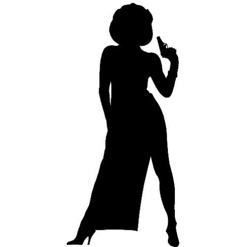Bond Girls Silhouette