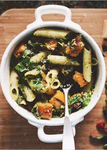 Pistachio pesto, Roasted butternut and Penne on Pinterest