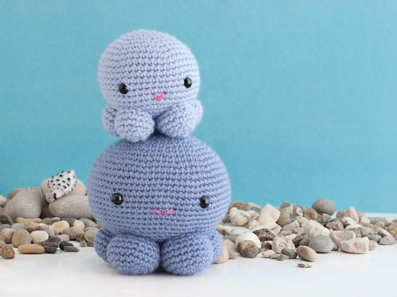 Amigurumi Octopus Tutorial : Amigurumi Octopus - FREE Crochet Pattern / Tutorial FREE ...