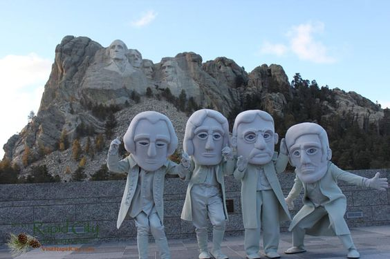 Visiting #MountRushmore on Presidents' Day 2013 - #RushmoreMascots @Patricia Nickens Derryberry Rapid City