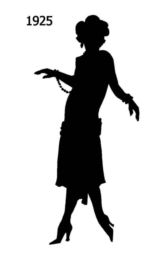 1920 Silhouette, 1920s Male Silhouette | www.imgkid.com - The Image ...
