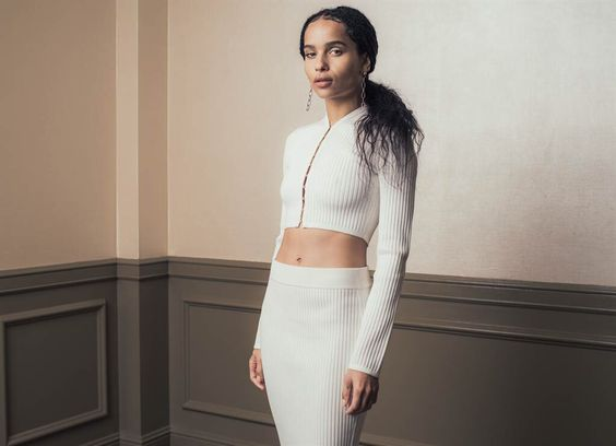 Zoë Kravitz by Casey Curry for Vancouver Sun.