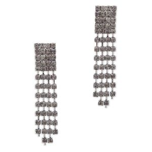 """CRISTINA EARRINGS""  Next cocktail party, hit one out of the park with Cristina earrings. Show up in a fab frock, your winning charm and these dazzling drops.  Visit: https://kjevonc.kitsylane.com/"
