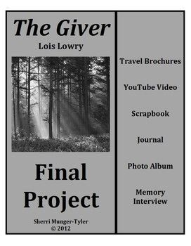 Creative essay title for The Giver by Lois Lowry?