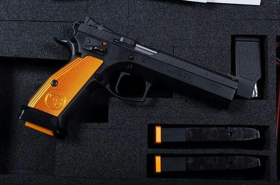 CZ-75 Tactical Sport Orange .40S&W
