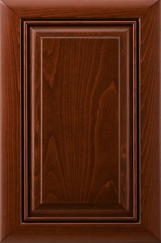Saratoga Cabinet Door Collection. Mitered Raised Panel Cabinet Door  Collection includes Routed for Glass Cabinet