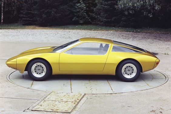 1975 OPEL GT-W Concept