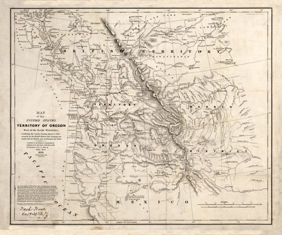 Hey, I found this really awesome Etsy listing at https://www.etsy.com/ca/listing/81529957/1838-map-of-the-western-oregon-territory