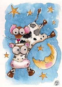 And the cow jumps over the moon...