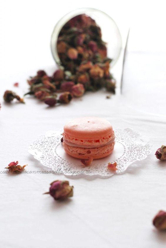 Macarons alla Rosa di Christophe Felder -versione 5.0-