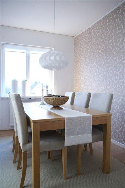 henriksdal dining room henriksdal chair birch linneryd natural simple and bright dining room. Black Bedroom Furniture Sets. Home Design Ideas