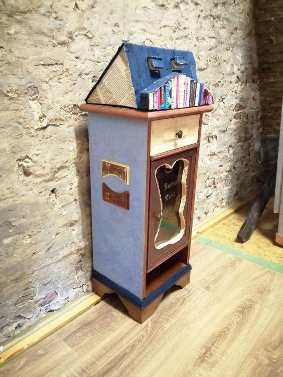 Boekenruilkast Heiende Lokeren 4