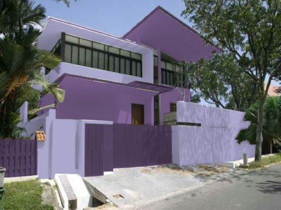 Fachadas de casas na cor vermelha pesquisa google for Frentes de casas pintadas