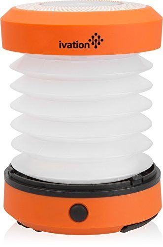 Ivation LED Camping Lantern Collapsible & Rainproof, Flashlight torch Mini Lamp with hanging handle, 2 Lighting levels, Battery Operated, Portable Handy and Easy to store ** LEARN MORE @ http://www.usefulcampingideas.com/store/ivation-led-camping-lantern-collapsible-rainproof-flashlight-torch-mini-lamp-with-hanging-handle-2-lighting-levels-battery-operated-portable-handy-and-easy-to-store/?a=6065