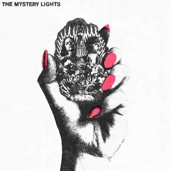 Portada del álbum de debut de The Mystery Lights