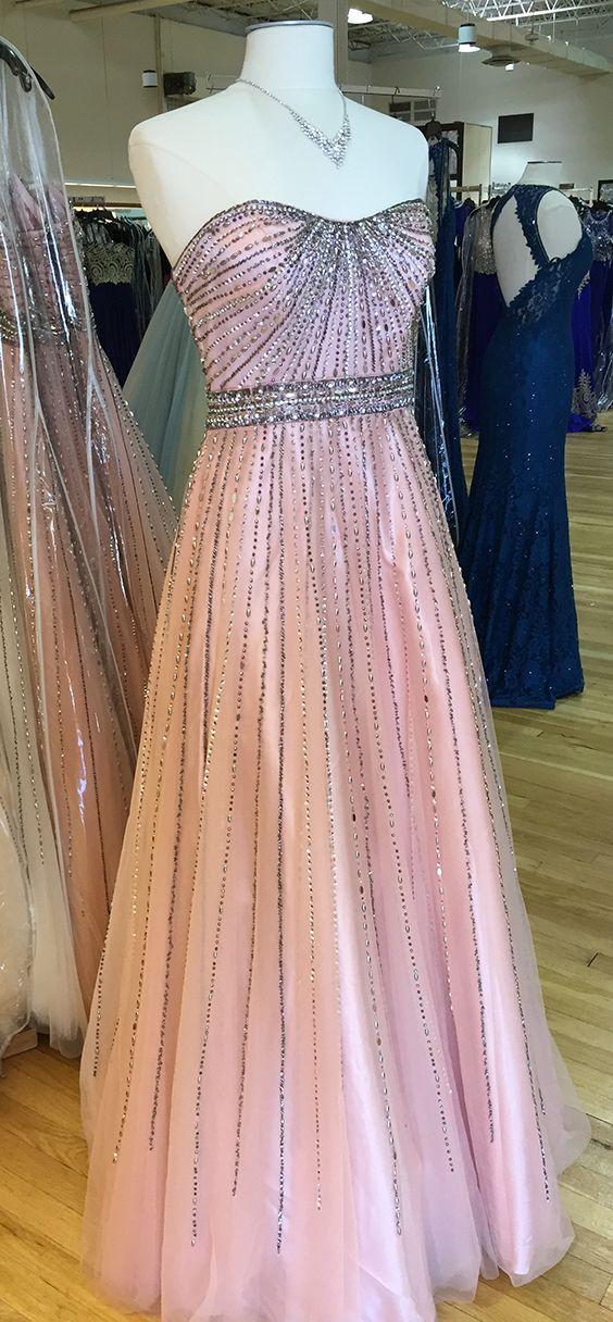 Tulle Strapless Beaded Dress #camillelavie