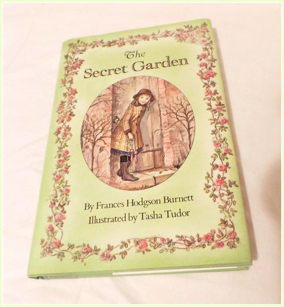 The Secret Garden Children's Book Illustrated by by ForHerEarsOnly, $12.95