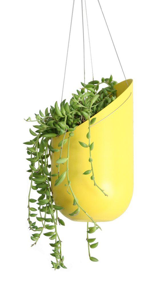 Wallter - Outdoor Hanging Planter from 2modern (via Design Milk)