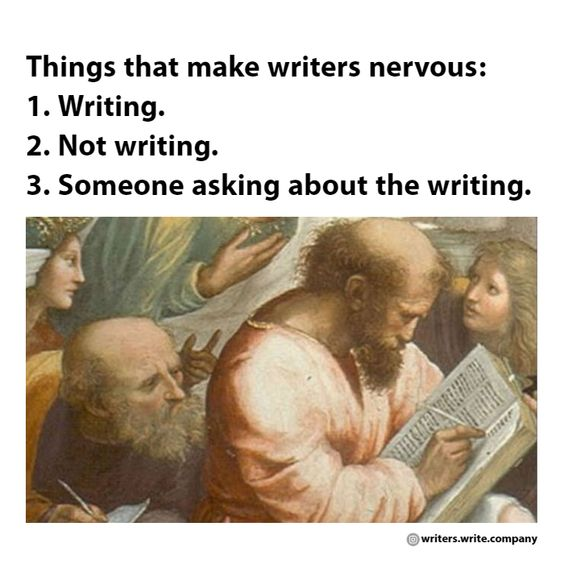 Making Writers Nervous - Writers Write