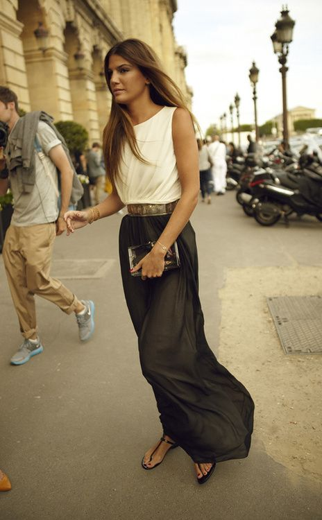 Classic Chic. TopShelfClothes.com Bianca Brandolini: