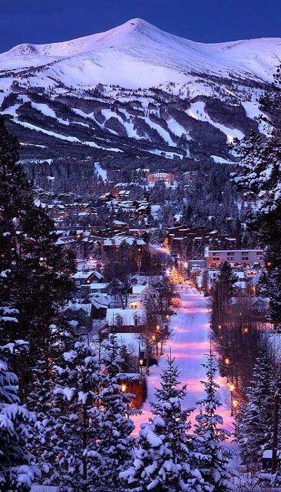 Winter's Night, Breckenridge, Colorado, U.S