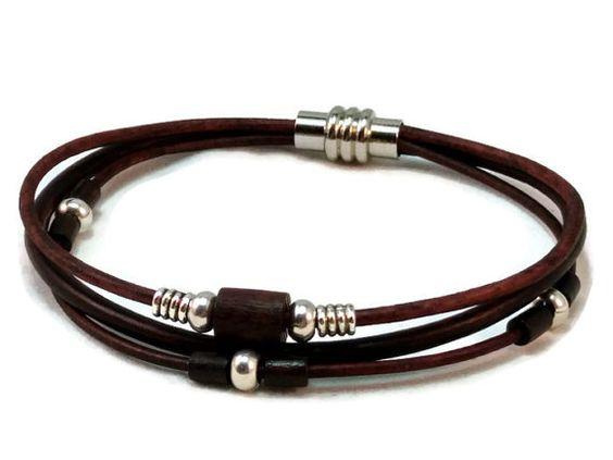 womens leather bracelet leather bracelet multi strand