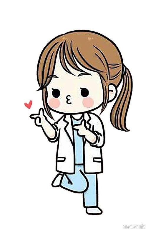 Doctor Iphone Case By Maramk Nurse Art Medical Wallpaper Cartoon Clip Art