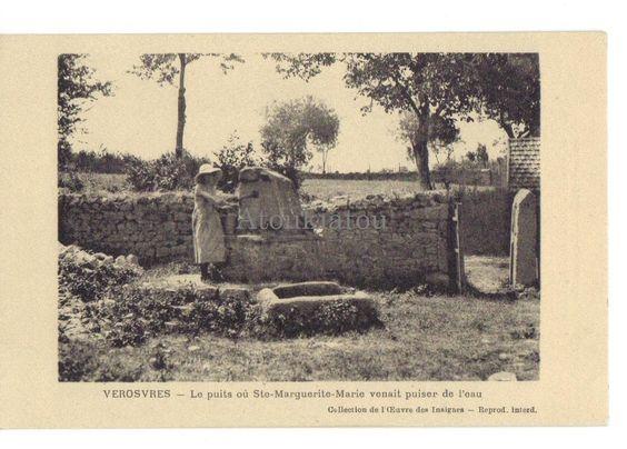 Verosvres. France. Ancienne carte postale. Vintage postcard.