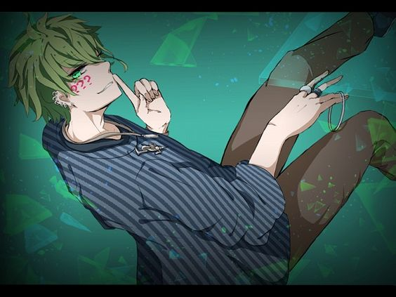 Tags: Anime, Pixiv Id 17696462, New Danganronpa V3, Amami Rantarou, Shush, Ring, Brown Pants
