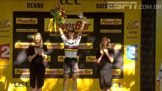 Veja os melhores momentos da 16ª etapa do Tour de France, vencida por Peter Sagan