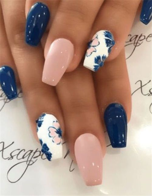 Spring Gel Nails Are Beautiful And Elegant They Are Suitable For